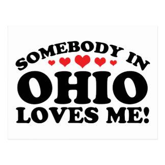 Alguien en Ohio me ama Postales