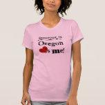 Alguien en Oregon me ama Camisetas
