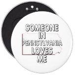 Alguien en Pennsylvania me ama Pin
