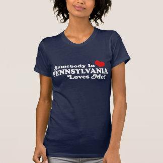 Alguien en Pennsylvania me ama Camisetas