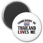 Alguien en Tailandia me ama Imán De Nevera