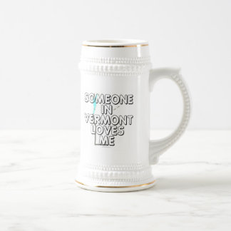Alguien en Vermont me ama Taza De Café