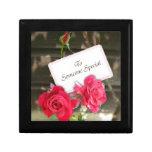 Alguien especial - rosas cajas de recuerdo