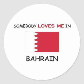 Alguien me ama en BAHREIN Etiquetas Redondas