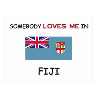 Alguien me ama en FIJI Postal