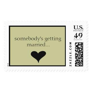 alguien que consigue casada… timbre postal