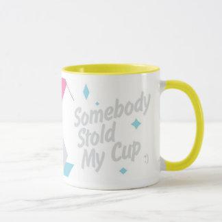 Alguien robó mi taza