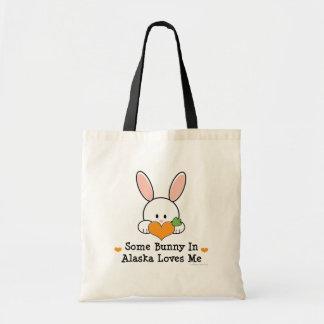 Algún conejito en Alaska me ama la bolsa de asas