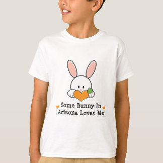 Algún conejito en Arizona me ama camiseta de los
