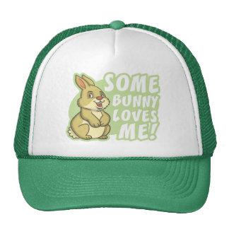 Algún conejito me ama Pascua Gorras
