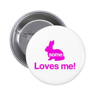 Algún conejito me ama pin