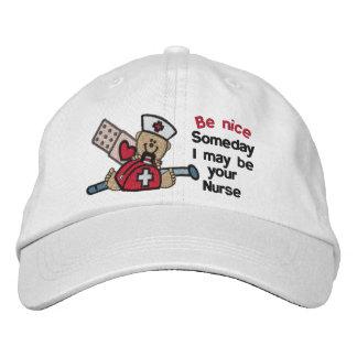 Algún día enfermera gorras de béisbol bordadas
