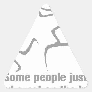 Alguna gente apenas necesita una palmadita en la colcomanias trianguladas