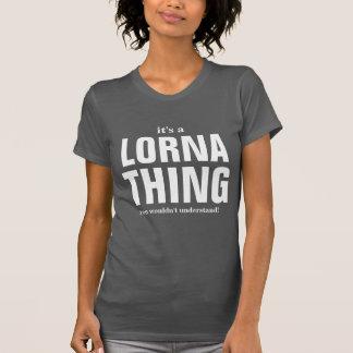 Alguna gente me llama Lorna Playera