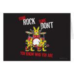 Alguna roca tarjeta de felicitación