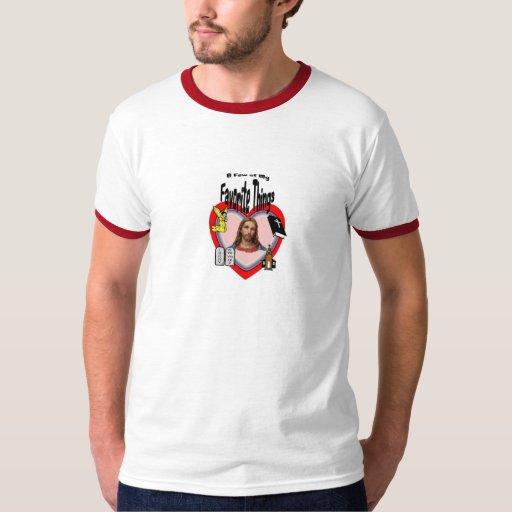 Algunas de mi camiseta cristiana preferida de las