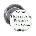 Algunos caballos son más elegantes que algunos ser pin