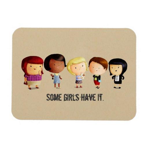 Algunos chicas del subcultivo imán