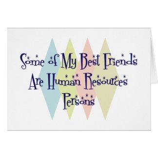 Algunos de mis mejores amigos son persona con much tarjetón