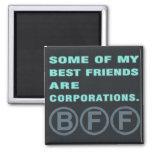 Algunos de mis mejores amigos son sociedades imán para frigorifico