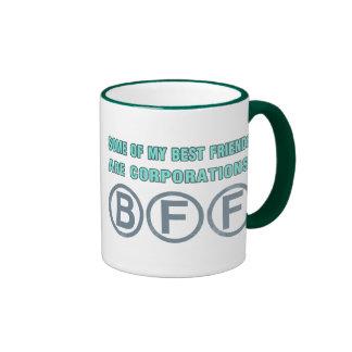 Algunos de mis mejores amigos son sociedades tazas de café