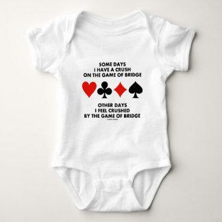 Algunos días tengo un agolpamiento en The Game del Body Para Bebé