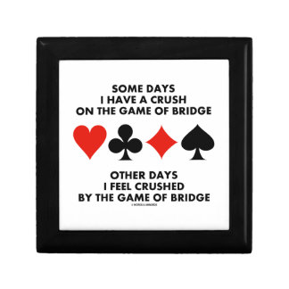 Algunos días tengo un agolpamiento en The Game del Cajas De Recuerdo