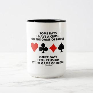 Algunos días tengo un agolpamiento en The Game del Taza De Dos Tonos