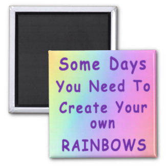Algunos días usted necesita crear sus propios arco imán cuadrado