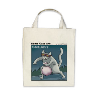 Algunos gatos son tote disimulado bolsas lienzo