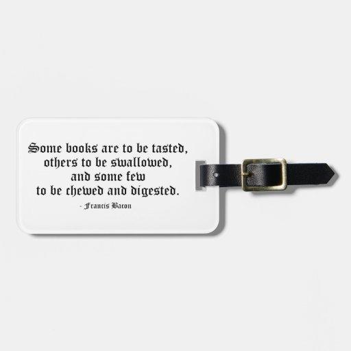 Algunos libros son… etiquetas maleta
