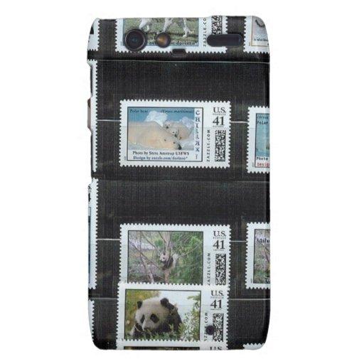 Algunos sellos del personalizado de Zazzle por dor Droid RAZR Carcasa