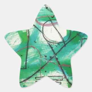 Algunos sistemas llevan a los caminos infinitos pegatina en forma de estrella