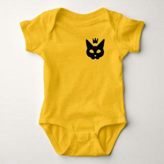 ALH Designs: [Black] Royal Cat Baby Bodysuit