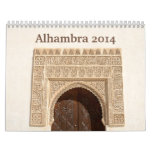 Alhambra 2014 Wall Calendar
