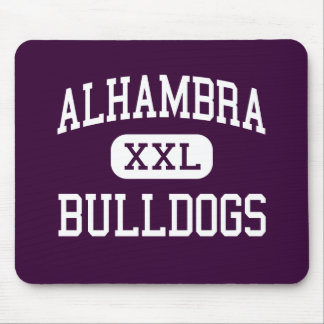 Alhambra - Bulldogs - High - Martinez California Mouse Mats