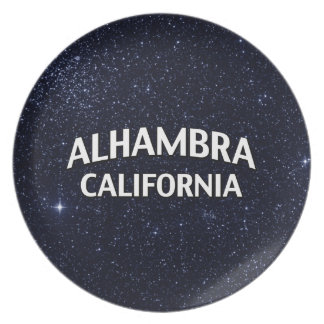 Alhambra California Platos Para Fiestas