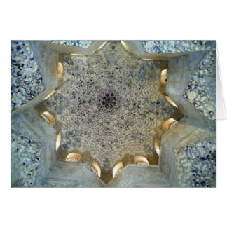 Alhambra Ceiling Card