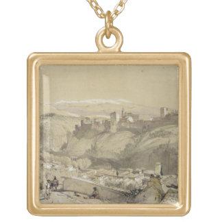 Alhambra del Albay, de 'bosquejos y del Dr. Colgante Cuadrado