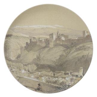 Alhambra del Albay, de 'bosquejos y del Dr. Platos De Comidas