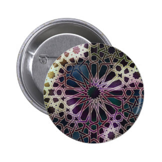 Alhambra Design Pinback Button