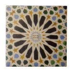 """Alhambra, Granada, Andalusia, Spain Tile<br><div class=""""desc"""">If you do one more thing in your life, and you haven&#39;t seen the Alhambra, then you really must make a visit to Spain to see this wonder of the world. The Alhambra&#39;s Islamic palaces were built for the last Muslim emirs in Granada, Andalusia, Spain 889 – 1527 and is...</div>"""