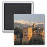 Alhambra; Granada; Andaslusia, España, Sierra Imán De Nevera