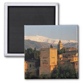 Alhambra; Granada; Andaslusia, España, Sierra Imán Cuadrado