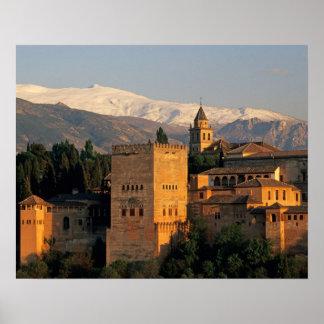 Alhambra Granada Andaslusia España Sierra Impresiones