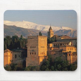 Alhambra; Granada; Andaslusia, Spain, Sierra Mouse Pad