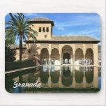 Alhambra Granada España Mousepad Alfombrillas De Ratones