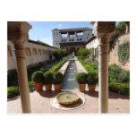 Alhambra, Granada España Postal