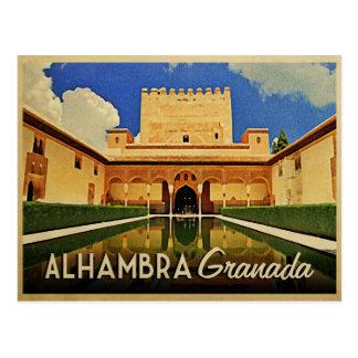 Alhambra Granada España Postales
