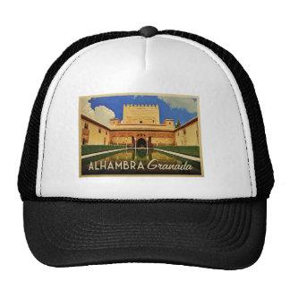 Alhambra Granada Spain Trucker Hats